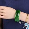 猫眼石手镯 绿手链保健养颜招财转运 水晶手镯时尚饰品