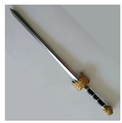 Chinese style swords Sword weapon simulation ShangFangBaoJian town house toy sword sword