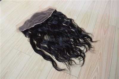 13*4 inches lace frontal human hair lace closure前蕾丝