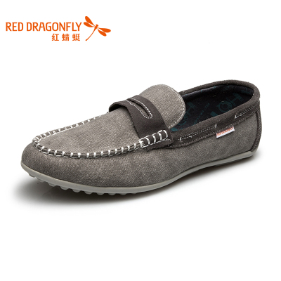 Red Dragonfly 2014 autumn new authentic fashion foot lightweight breathable jacket Korean men's shoes canvas shoes