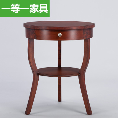 The number one European furniture wood coffee table coffee table Side reception desk negotiation table casual roundtable Specials