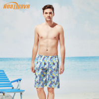 heatwave热浪新款度假大码速干舒适带内衬活力男泳衣沙滩裤A230