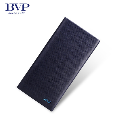 bvp Platinum Group Men Leather Wallet upscale business slim wallet card bit more vertical section wallet