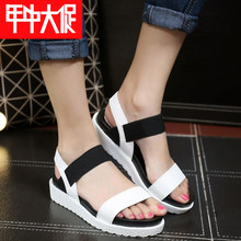 Big female children's shoes sandals 11-14 years old children's sandals, female 13 to 15 years old female students youth sandals in the summer of han edition
