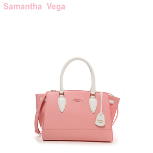 Samantha Vega手提包 大号Augier White By Color bag 1510190892