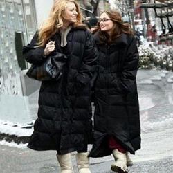 [限时一天] 欧美大牌长款羽绒服女明星超长款加厚羽绒大衣保暖大码外套白鹅绒