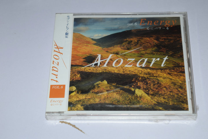 日版未拆 B10615  MOZART ENERGY VOL.6