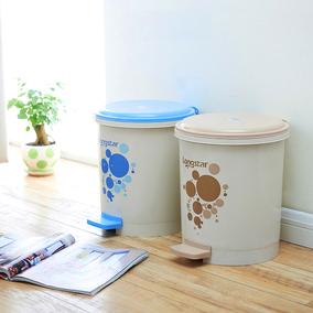 办公室家用脚踩脚踏垃圾桶带内桶