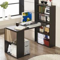 自由组合书柜电脑桌 台式 家用电脑桌 书架书桌特价