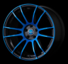 RAYS 57XTREME  CJ SPEC BLUE JAPANSQUE 轻量化轮毂17 18 19