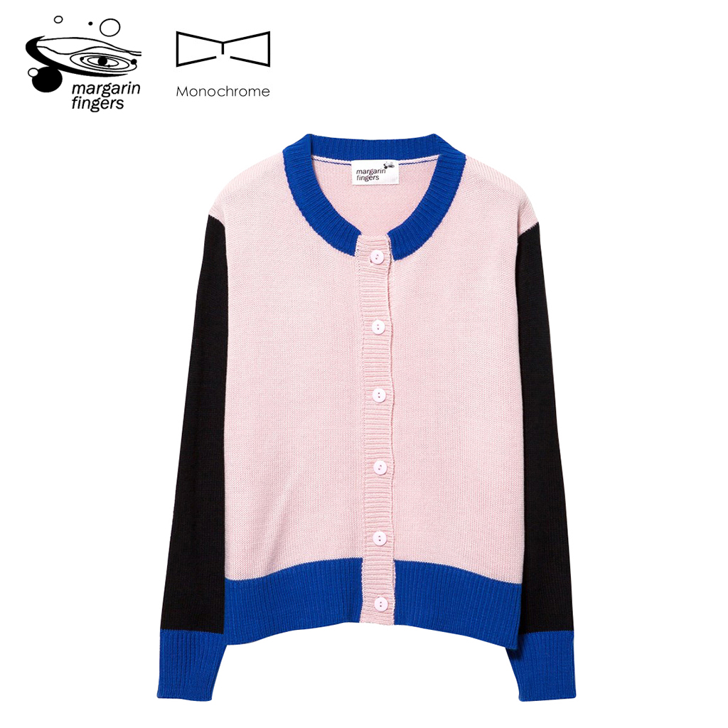 授权正品Margarin fingers女装毛针织衫MULTI- COLOR CARDIGAN 13