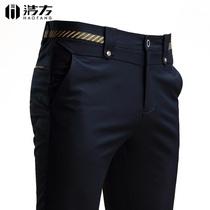 男士裤子夏季新款2017休闲裤男薄款修身韩版潮流百搭春季小脚男裤