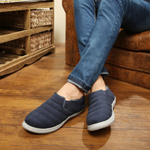 Old Beijing cloth shoes men cotton shoes to keep warm winter leisure walk new men the men driving a foot pedal shoes