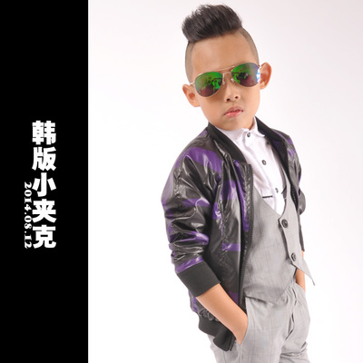 8.12 Korean children's clothing jacket boys small jacket children jacket sun dress Y4896