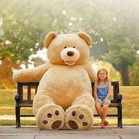 包邮正品美国costco大熊 93英寸2.4米高超大玩具熊泰迪熊情人礼物