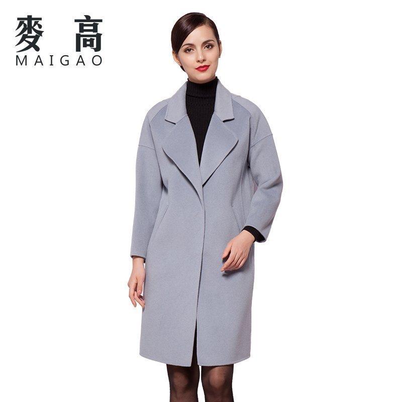 《MASS》2015-2016秋冬女装双面呢大衣款式