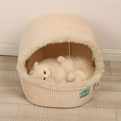 Teddy Bear pet litter fall and winter than a small dog house dog bed yurt house cat litter kennel tent nest