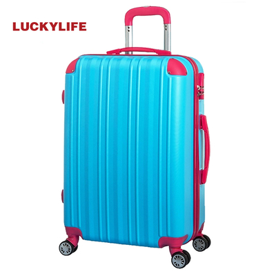 Fortunately for ultralight aircraft-grade durable ABS mute 20/24 inch Wheels Trolley suitcase luggage