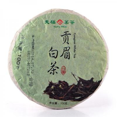 Tenfu tea specialty of fujian famous tea GongMei white tea is white tea in 2014 new product listing