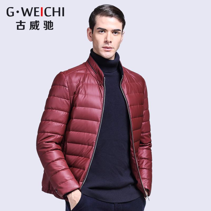 男士羽绒服2016冬季新款爸爸冬装加厚款衣服男中年休闲yrf外套