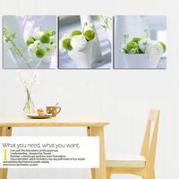 无框画三联餐厅装饰画客厅现代简约沙发墙上卧室挂画壁画美式欧式