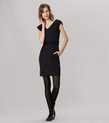 [年货节] 限时打折 法国品牌 袖口腰部折皱加厚针织连衣裙秋冬款打底裙女冬