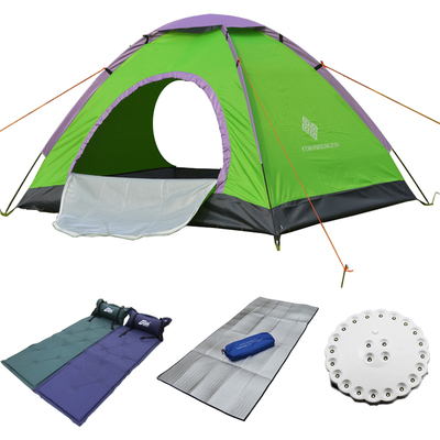 Golmud outdoor camping tent camping people who double-door 3 Caters FYZP036