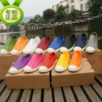 专柜正品 Native Jefferson 洞洞鞋沙滩鞋 凉拖鞋 男女情侣透气鞋