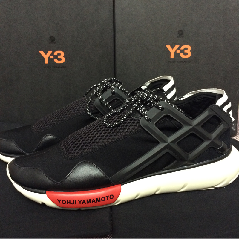 Y-3 spot in Europe and America tide shoes couple new y3 leather low-top lace casual men y-3 sneakers