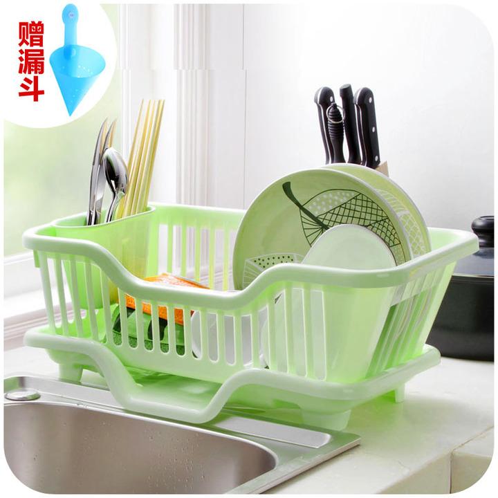 滴水家漏斗大号置物架居家碗架赠厨房女鞋多艾卡菲妮塑料图片