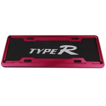 TYPER TR - 180, the new traffic rules the car license plate frame (red) abrasion deformation does not rust