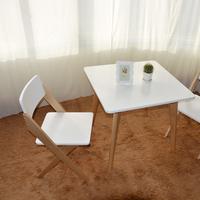 厂家直销时尚餐桌电脑桌会客椅咖啡桌简约桌欧式桌实木方桌价格低