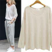 2017秋季女装宽松针织衫长衫T恤 Knitted sweater loose T-shirt
