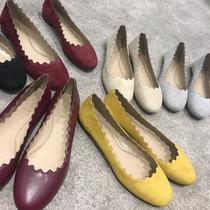 【sheii苏茵茵】超软的芭蕾舞鞋!小辣椒同款花瓣鞋芭蕾舞花边单鞋