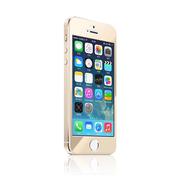 羽博 苹果 iPhone5s钢化膜 彩色膜防爆玻璃膜 ip5彩贴 彩色后背膜