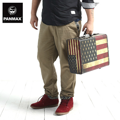 PANMAX yards Tide brand men's fashion casual khaki pants men plus fertilizer to increase the large influx of loose pants