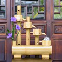 特价流水喷泉水景 工艺品创意客厅摆件 纯天然竹艺喷泉新品上市