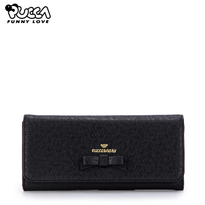 PUCCA China doll 2014 autumn and winter solid new Korean ladies temperament simple fashion long wallet