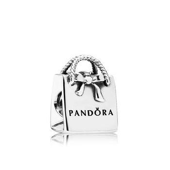 Purchasing counters authentic Pandora / Pandora classic bow shopping bag strap 791184
