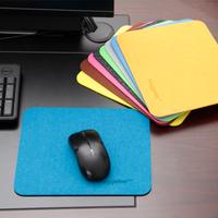 韩国加厚毛毡鼠标垫无纺布环保鼠标垫办公桌垫游戏鼠标垫护腕垫
