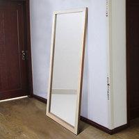 玉晶 实木大尺寸穿衣镜落地壁挂两用镜全身试衣镜大镜子高清防爆