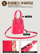 Ya bei Philippine special autumn/winter 2015 ladies handbags hard leather handbag Fashion or lend a hand the bill of lading shoulder slope across packages