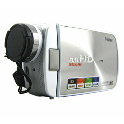 Haier / Haier DV-V80 camcorder professional image stabilization genuine home HD digital video recorder free shipping