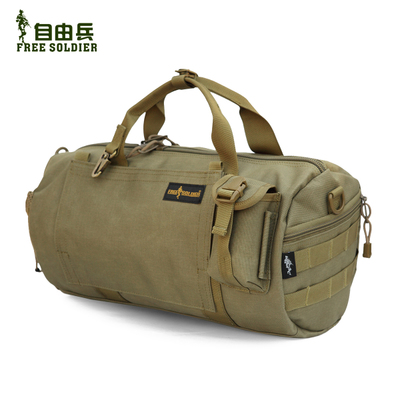 Freedom soldiers outdoor travel backpack tactical backpack outdoor sports bucket shoulder bag diagonal package