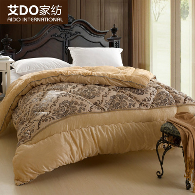 AI do plush feather quilt is double thick winter quilts are core Specials