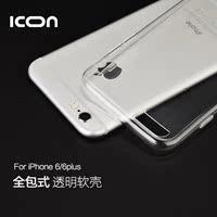iphone6s手机壳苹果6plus保护套4.7 5.5寸超薄简约透明硅胶6s软壳