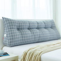 三角靠垫 床上大靠枕 双人床头软包 床靠背 榻榻米靠枕 可拆洗