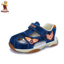 Macbana/m g bonner function of the 1-2-3-4-5 years old children shoes male baby recreational leather sandals