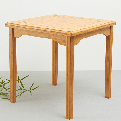 Political bamboo wood bamboo coffee table square table kang table tea table tea table tea tables, windows and table