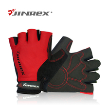 JINREX summer cycling glove bike half gloves sports gloves breathable men and women